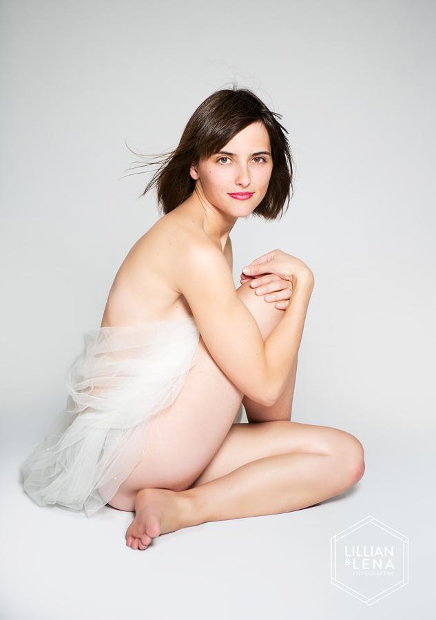 naken modell fotografering